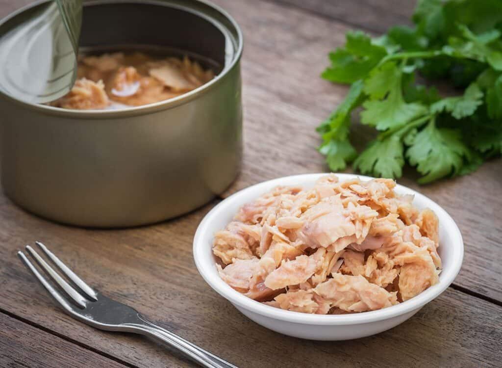 tuna in a bowl